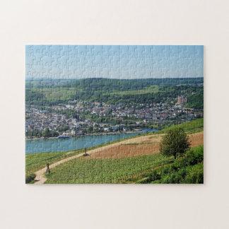 Puzzle Bingen au Rhin