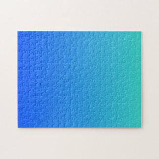 Puzzle Bleu de turquoise Ombre