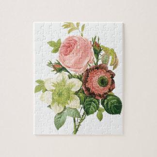 Puzzle Bouquet vintage rose