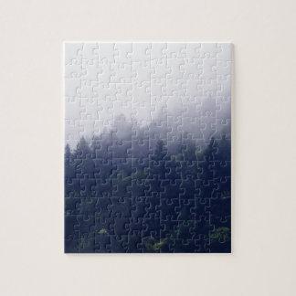 Puzzle Brouillard de forêt