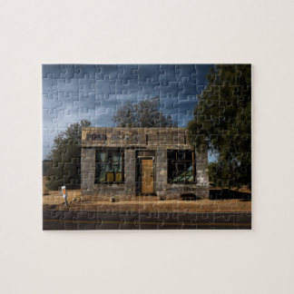 Puzzle Bureau de poste abandonné à Kelso la Californie