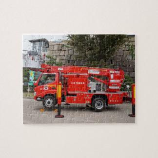 Puzzle Camion de pompiers japonais