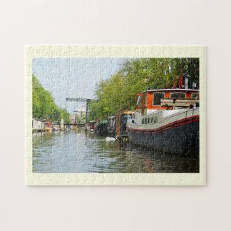 Puzzle Canal à Amsterdam