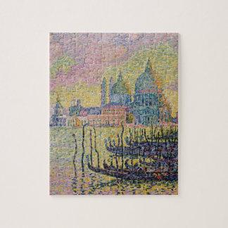Puzzle Canal grand, Venise par Paul Signac