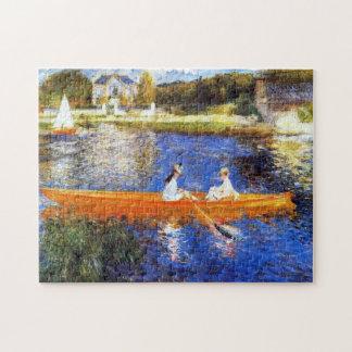 Puzzle Canotage sur les beaux-arts de la Seine Renoir