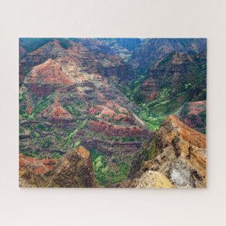 Puzzle Canyon de Waimea de Kauai