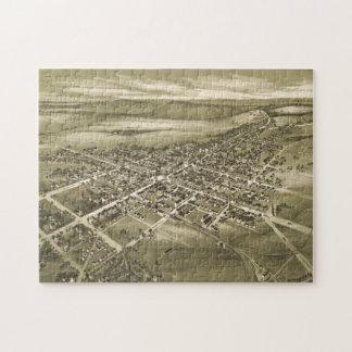 Puzzle Carte imagée vintage de la PA de Gettysburg (1888)