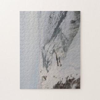 Puzzle Casse-tête : Cascade de Gullfoss dans la neige