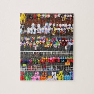 Puzzle Casse-tête d'affichage de porte - clé de jouet de
