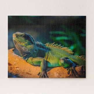Puzzle Casse-tête de faune d'iguane