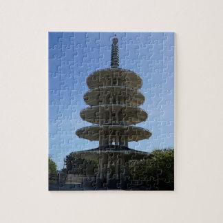 Puzzle Casse-tête de la pagoda #3 de paix de SF Japantown