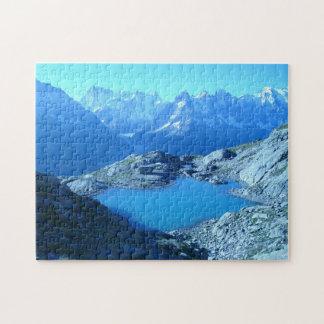 Puzzle Casse-tête de lac haute mountain
