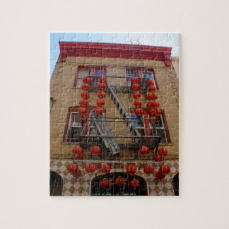 Puzzle Casse-tête de temple de San Francisco Chinatown
