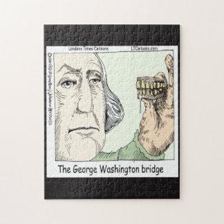 Puzzle Casse-tête drôle de pont de George Washington