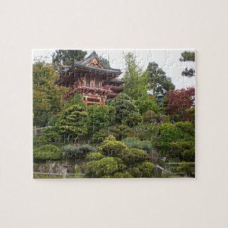 Puzzle Casse-tête japonaise de jardin de thé de San