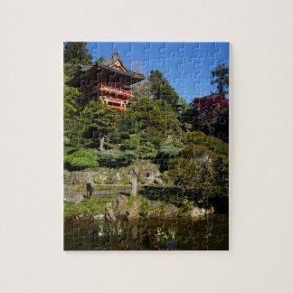 Puzzle Casse-tête japonaise de porte de temple de jardin