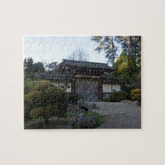 Puzzle Casse-tête japonaise du jardin de thé de San