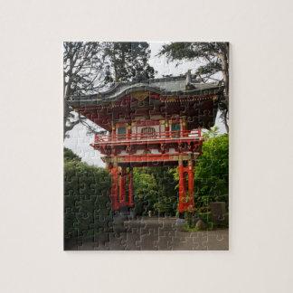 Puzzle Casse-tête japonaise du temple Gate#2 de jardin de