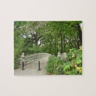 Puzzle Central Park de pont d'arc
