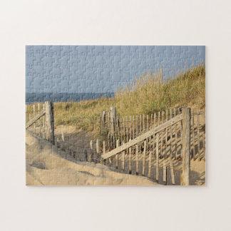 Puzzle Chemin à travers les dunes pour emballer la plage