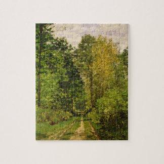 Puzzle Chemin boisé de Claude Monet |