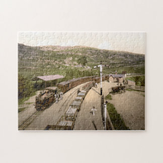 Puzzle Chemin de fer vintage du Pays de Galles et