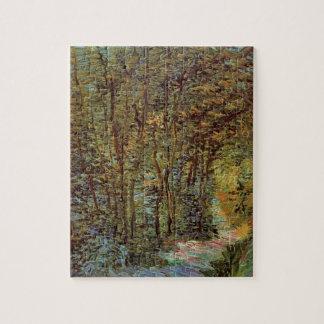 Puzzle Chemin de Van Gogh dans les bois, beaux-arts