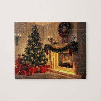 Puzzle Cheminée 8x10 de Noël