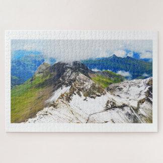 Puzzle Chemins suisses de montagne