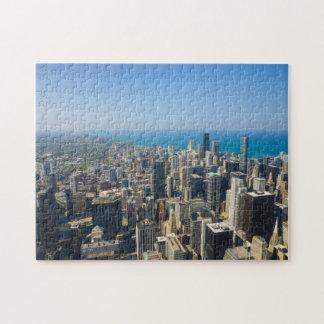 Puzzle Chicago d'en haut