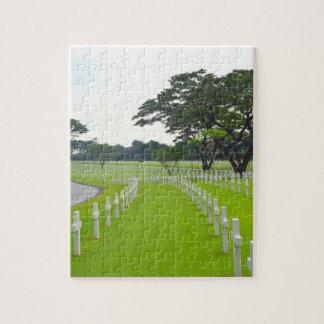 Puzzle Cimetière d'Américain de Manille