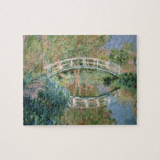 Puzzle Claude Monet | le pont japonais, Giverny