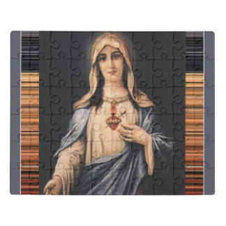 Puzzle Coeur impeccable de mère douleureuse de Mary