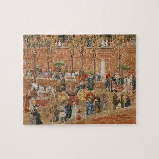 Puzzle Colline de Pincian, Rome par Maurice Prendergast