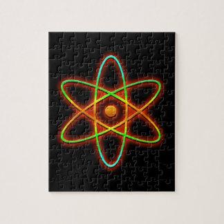 Puzzle Concept atomique
