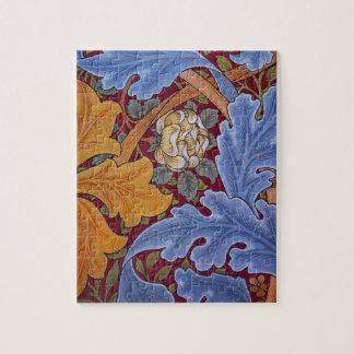Puzzle Conception florale vintage de William Morris St