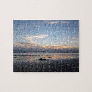 Puzzle Coucher du soleil de plage -