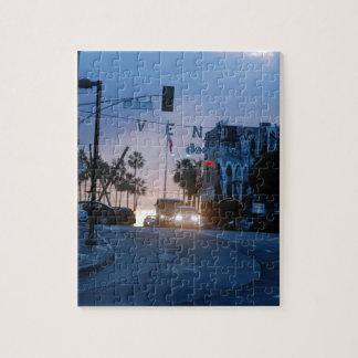 Puzzle coucher du soleil de Venise