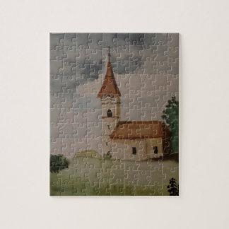 Puzzle Couleur pour aquarelle médiévale anglaise avec du