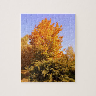 Puzzle Couleurs d'automne