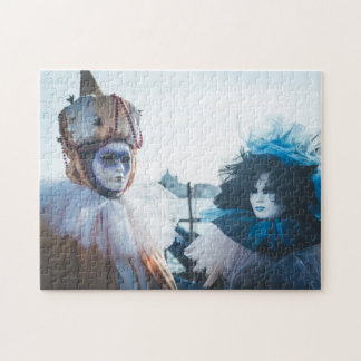 Puzzle Couples des masques de carnaval à Venise, Italie