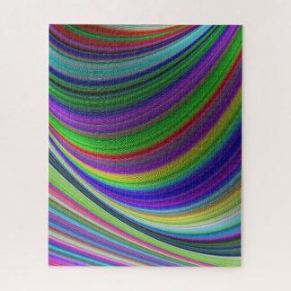 Puzzle Courbes de couleur