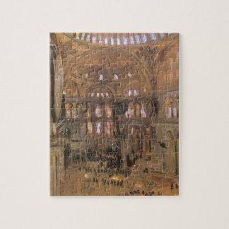 Puzzle Croquis de Père Noël Sophia par Sargent, art
