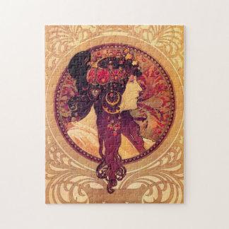 Puzzle d'Alphonse Mucha Donna Orechini