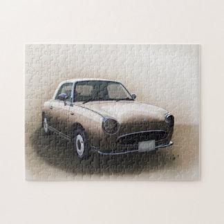 Puzzle de beaux-arts de Nissan Figaro de brume de