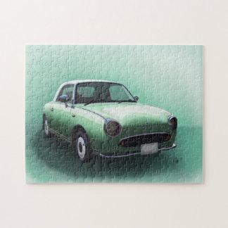 Puzzle de beaux-arts de voiture de Nissan Figaro