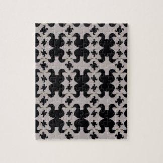 Puzzle de canards noirs