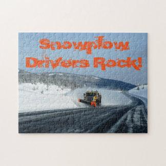Puzzle de chasse-neige du Wyoming
