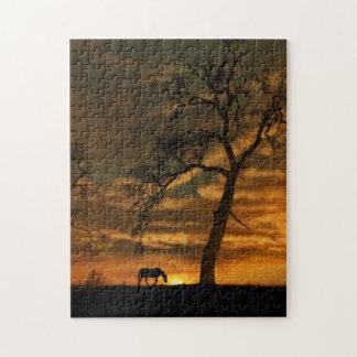Puzzle de cheval de beaux-arts
