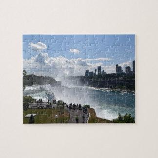 Puzzle de chutes du Niagara